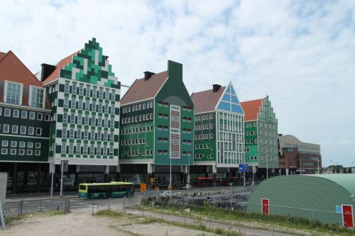 'Opinion is divided' on the latest Zaandam development, according to our guide. Is it brilliantly witty or just gimmicky kitsch?