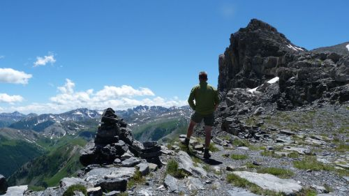 Pas de la Cavale, 2671 metres.