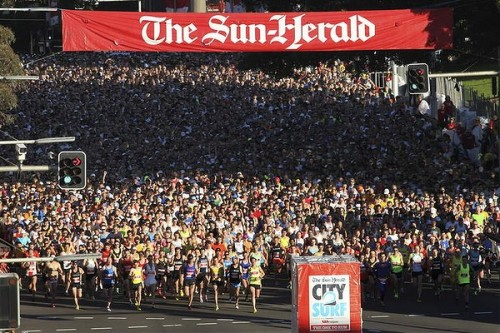 They're off! Photo: Sydney Morning Herald