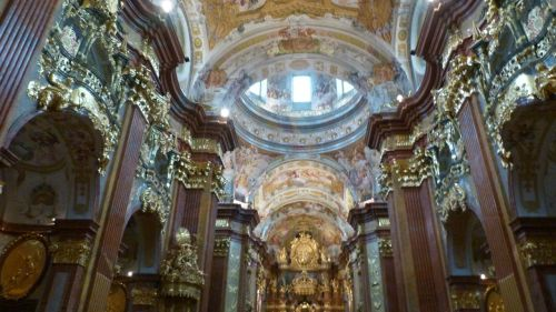 The Benedictine Monastery, Melk. What would St Benedict have thought of it?