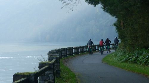 It's one of Europe's most popular cycling routes - hundreds of kilometres of safe, car-free bike path.