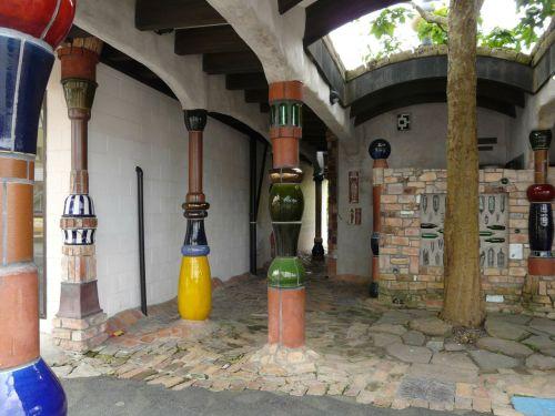 Hundertwasser's contribution to brightening life in Kawakawa.