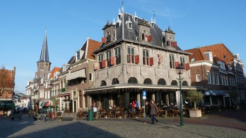The Waegh (the weigh house) Hoorn. Now a decent place for koffie and lunch.