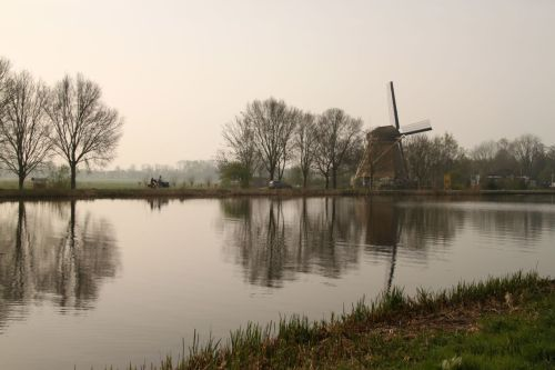 Of course any collection of Dutch landscapes needs a windmill shot. This one is on the Amstel River, between Amsterdam and Ouderkerk.