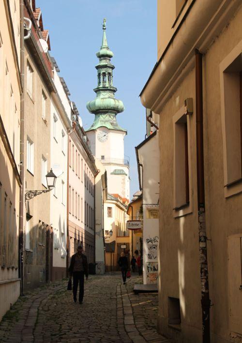 St Michael's Tower, Bratislava Old Town.