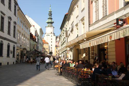 The Old Town, Bratislava.