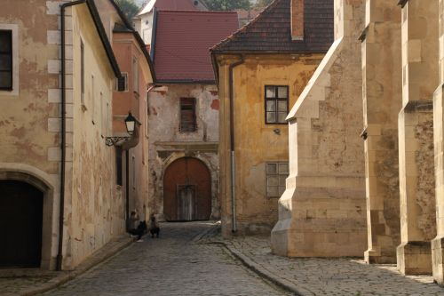 A quiet corner of the old town.