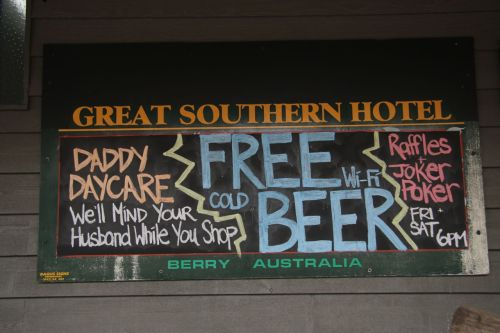 No, not the free beer, it's the sense of humour. Yes, every culture has its humour, but I'm Australian and I like our one best!