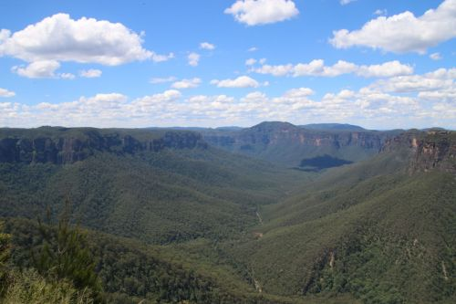 The wild places of course. This is the Grose Valley in the Blue Mountains, just a couple of hours drive out of Sydney. Fabulous walks!
