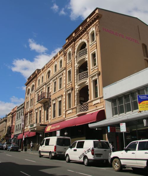 Hadley's Orient Hotel, Murray St, Hobart.