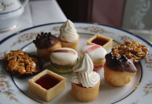 High Tea delicacies.