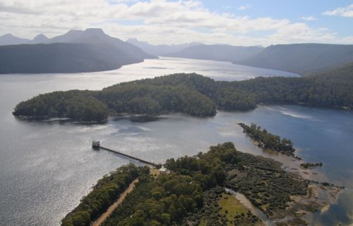 Is there a better destination anywhere in the world? We'll be staying at Pumphouse Point. Yes, in that little building at the end of the causeway.