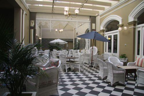 The Atrium Tea Room, Hadley's Orient Hotel, Hobart.
