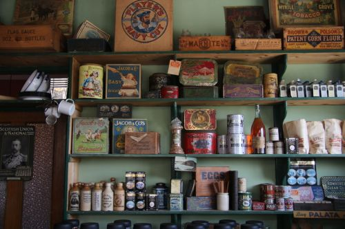If we needed souvenirs, the sweet shop had plenty,