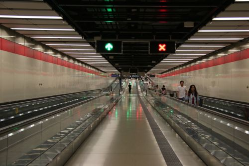 There are impressive subway stations all over the world, though none better than Hong Kong's.