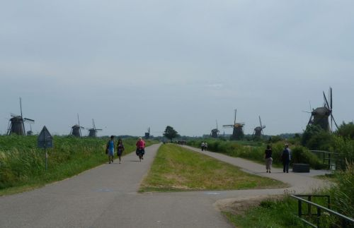 The Kinderdijk is now one of the Netherlands' 'must-see' attractions.