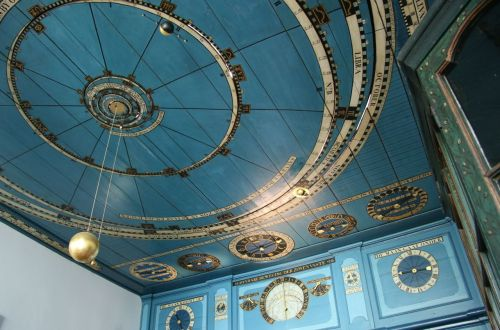 The oldest working planetarium in the world. And possibly the most beautiful.