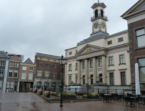...and for comparison, here's its stadhuis.