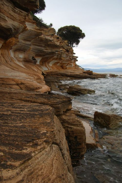 Painted Cliffs, Maria Island