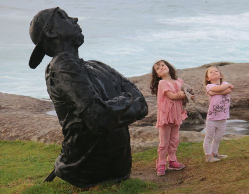 We were back in Sydney in time for the ever-wonderful Sculpture by the Sea.