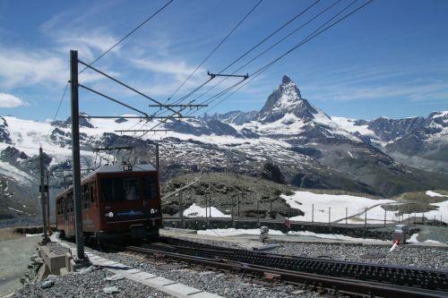 Train and Matterhorn