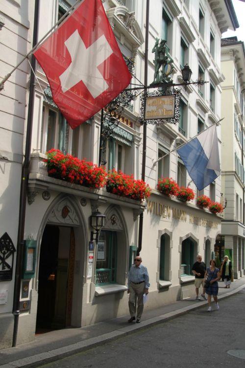 Hotel Wilden Mann, Lucerne